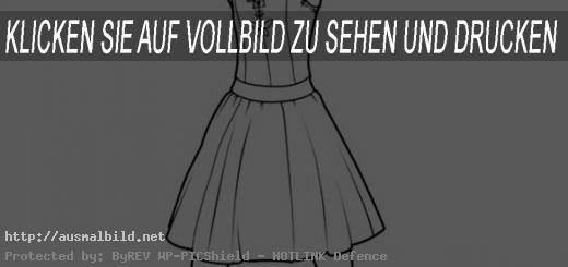 Ausmalbild Ballerina. Bild 3